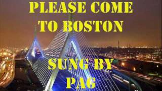 Please Come To Boston sung by Page Amos