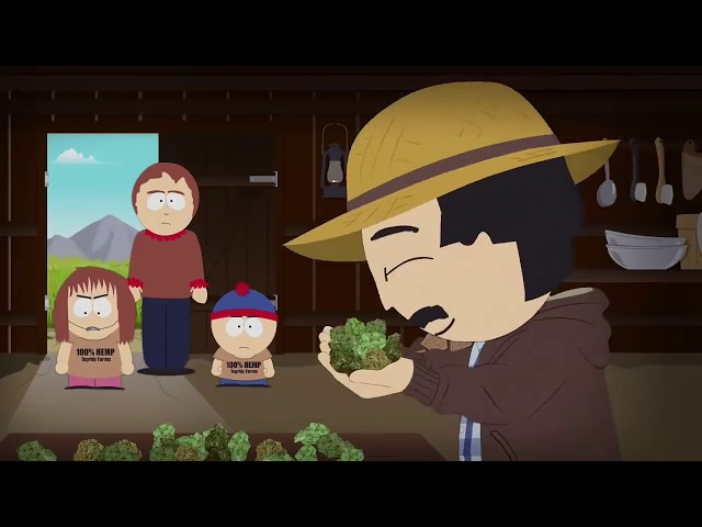 Happy 420 from South Park