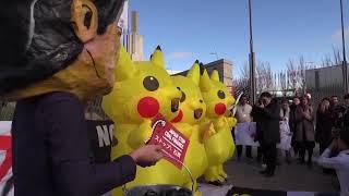 Sayonara coal! Protesters at climate summit target Japan