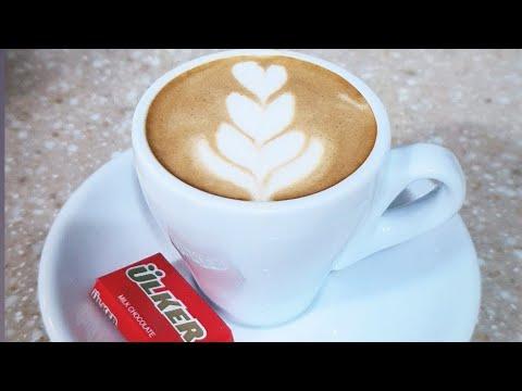 طريقة الرسم على القهوة كوفي لاتيه بدون مكينة How To Draw Coffee Kofi Latte Without A Machine Youtube