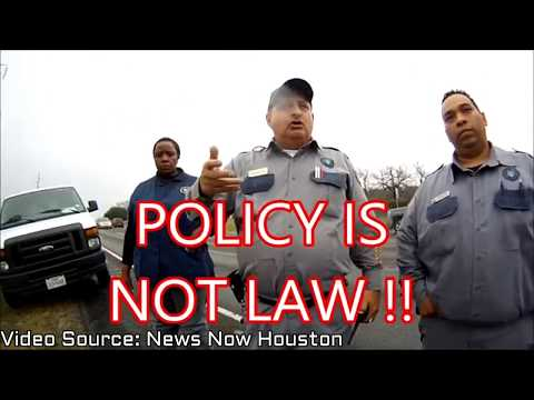 1st Amendment Audit Source Video: News Now Houston