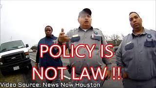 1st Amendment Audit Source Video: News Now Houston