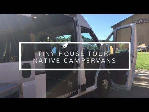 Tiny House Tour: Native Campervans