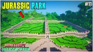 Building Jurassic Park   Mine¢raft Jurassic Park   Survival #11   THE COSMIC BOY