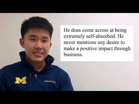 I Viewed My College Admissions Files   University Of Michigan Decision Reaction