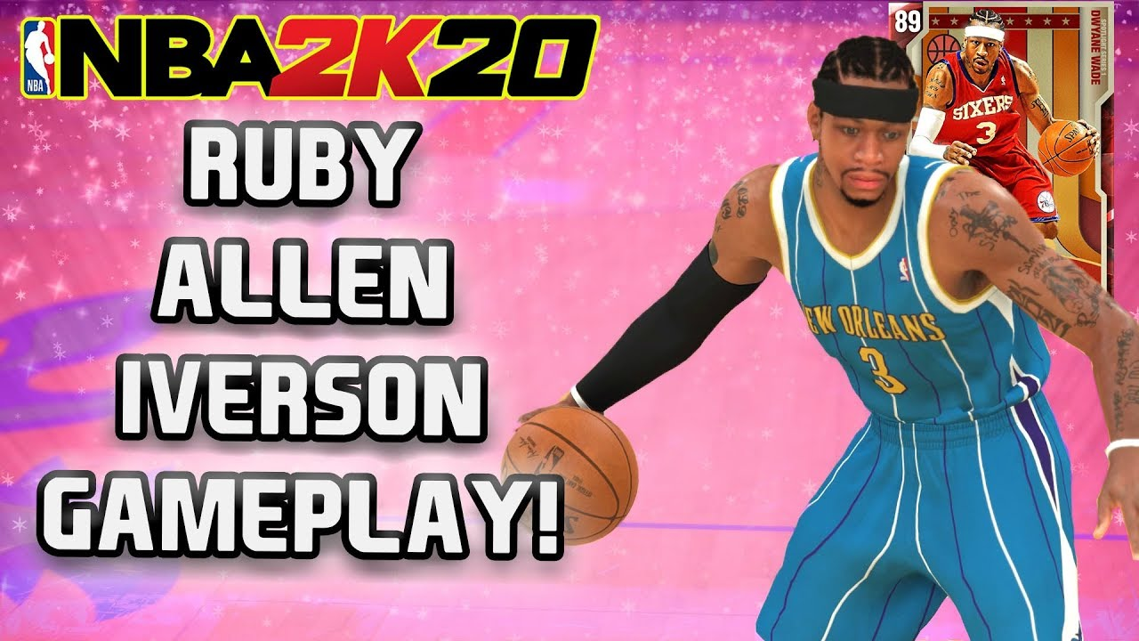 separation shoes 01cb9 93148 NBA 2K20 MyTeam - Ruby Allen Iverson Gets in His Bag!