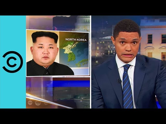 Trump's War With North Korea? - The Daily Show   Comedy Central