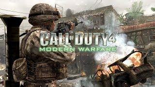 Call of Duty 4.Обучение.И первое задание.