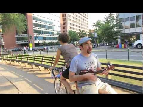 Domino's Pizza Saved My Life - Capital Fringe Festival (bicycle busking w/ Dylan Fresco)