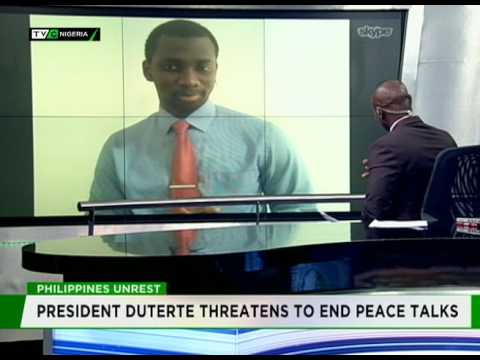 Interview with Sam Phatey on peace talks in the Philippines