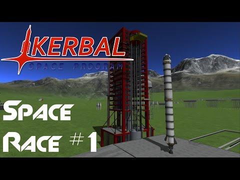 KSP Space Race #1, Racing The Beardy Penguin