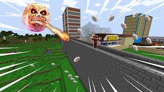 KORKUNÇ AY ŞEHRE SALDIRIYOR! 😱 - Minecraft