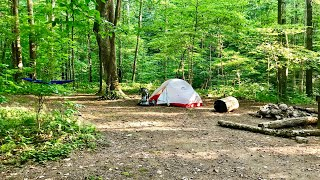 Backpacking in Frozen Hęad State Park