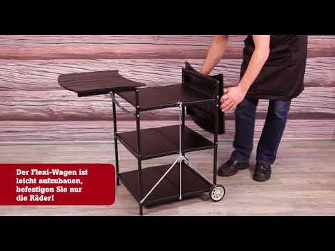 Outdoorküche Zubehör Hamburg : Muurikka flexibler küchenwagen outdoor in schwarz hamburg markt