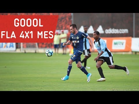 Gols do jogo-treino | Flamengo 4x1 Mesquita