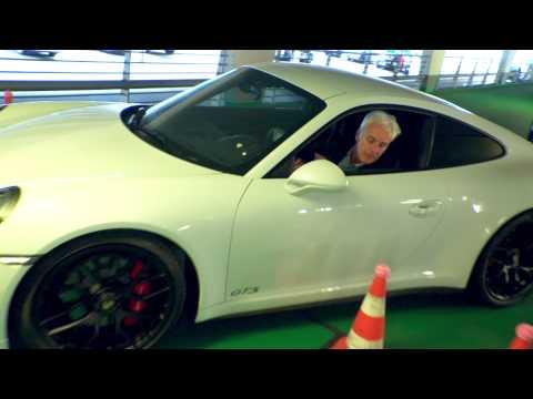 Parking Challenge with Matthias Müller - Porsche Tennis Grand Prix 2015