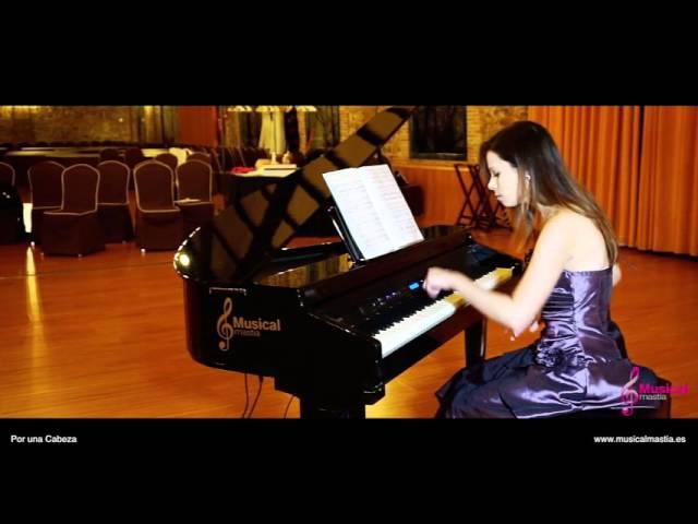 Tango Por Una Cabeza Carlos Gardel Pianista para bodas y eventos