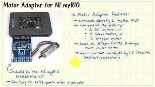 NI myRIO: Motor Adapter for NI myRIO