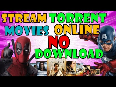 HOW TO STREAM & WATCH TORRENT MOVIES...
