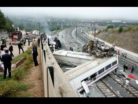 Крушение поезда в Испании: машинист признался в превышении скорости!