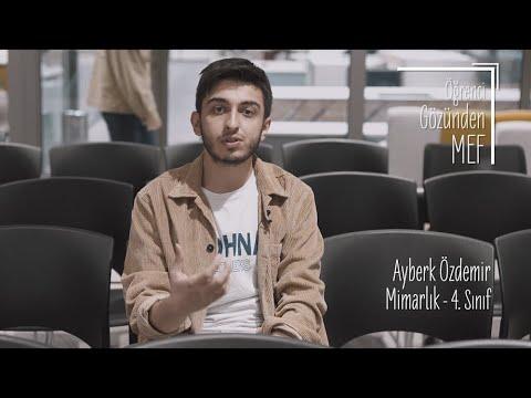 Öğrenci Gözünden MEF Üniversitesi / Ayberk Özdemir - Mimarlık