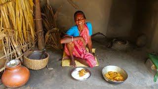 Rohu fish Egg Curry | Fish egg recipe | Machli ka anda recipe | big fish anda cooking & eating