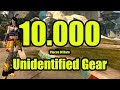 GW2 - Identifying 10K Pieces Of Rare Unidentified Gear with 783% MF