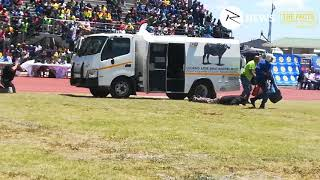 WATCH: HOW POLICE DEAL WITH CASH HEIST TRANSIT OPER