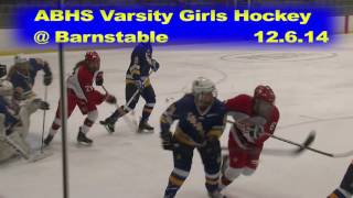Acton Boxborough Girls Varsity Ice Hockey at Barnstable 12/6/14