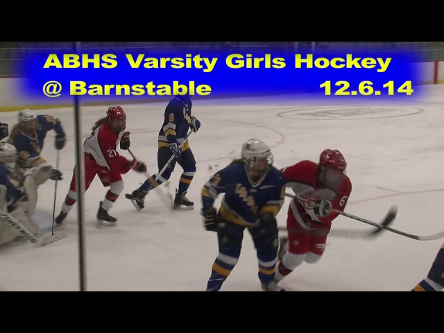 Acton Boxborough Girls Varsity Ice Hockey at Barnstable 12/6/14