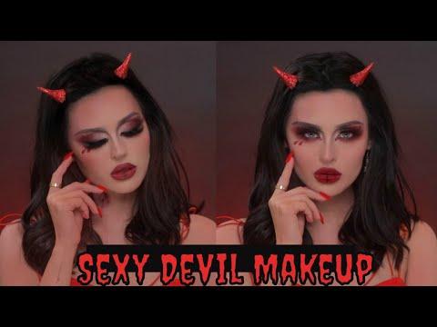 Sexy Devil Halloween Makeup Tutorial thumbnail