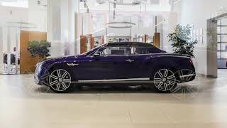 Купить Bentley Continental GTC V8 Azure Purple Linen/Damson +79219450788 - YouTube