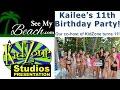 Kailee, the co-host of KidZone on SeeMyBeach.com turns 11!