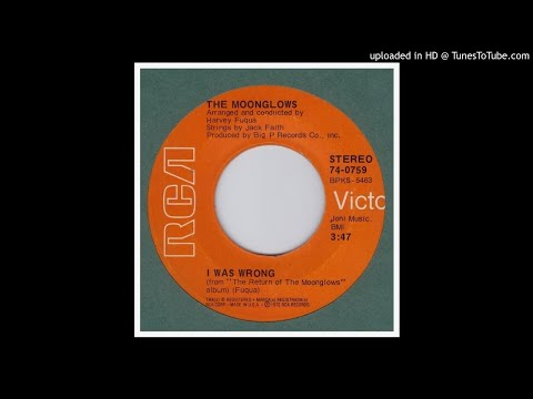 Moonglows, The - I Was Wrong - 1972