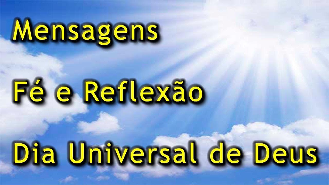 Frases Dia Universal De Deus