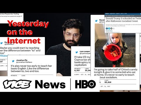 Yesterday On The Internet: Donald Trump Wants To Take Candy From A Baby (HBO)