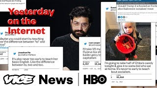 Yesterday On The Internet: Donald Trump Wants To Take Candy From A Baby (HBO) thumbnail