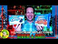 GINGERBREAD & WHITE FUDGE COVERED Oreo® Review 🍪 | Livestream Replay 11.20.20 | Peep THIS Out! 🕵️♂️