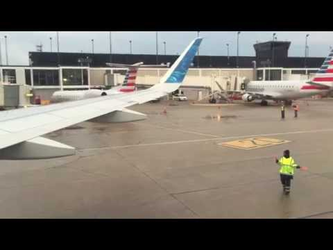 Frontier Airlines Airbus A320 start up and takeoff from O' Hare