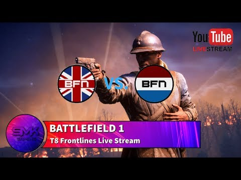 BF1 Live | BFNations | UK vs Netherlands | Frontlines