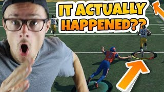 NOBODY THOUGHT THIS WAS POSSIBLE!! OUR BEST TOUCHDOWN YET!! Madden 18 Packed Out
