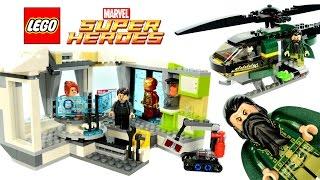 lEGO Iron Man 3 Malibu Mansion Attack review! 2013 set 76007!