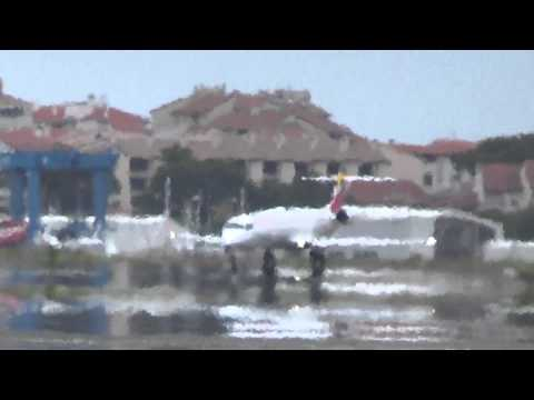 Despegue CRJ-900 Air Nostrum (Iberia Regional) pista 22 LESO