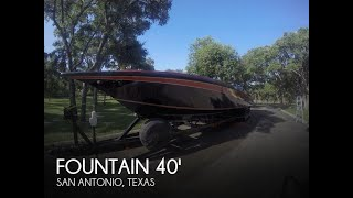Used 1988 Fountain 12M for sale in San Antonio, Texas
