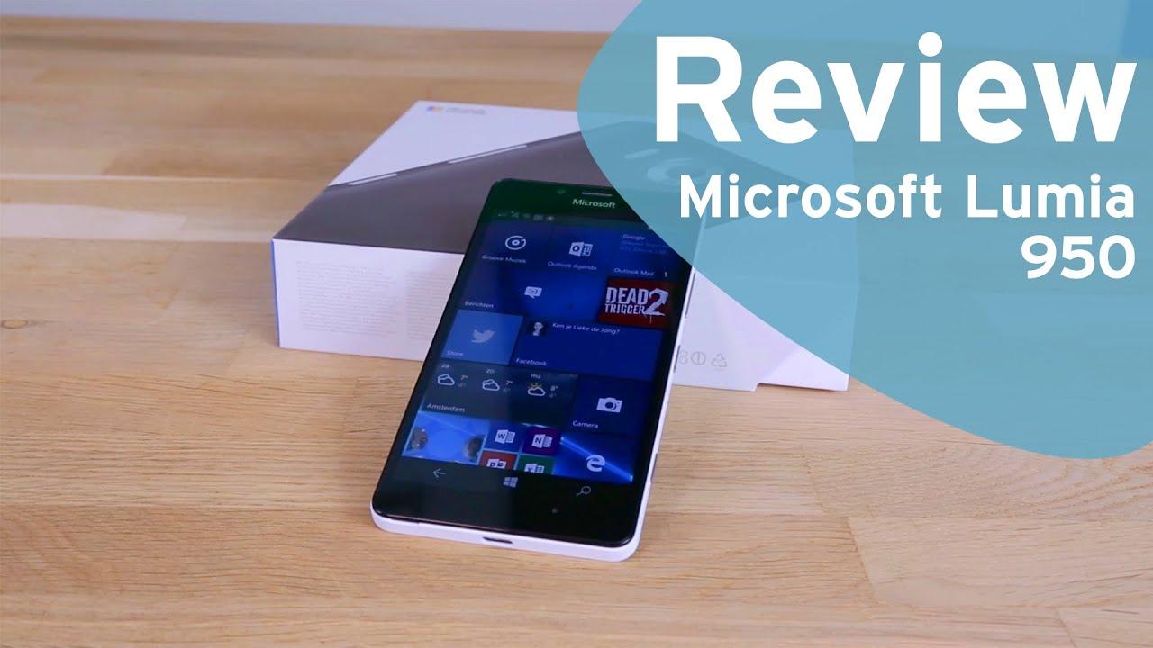 4d3ab14d7dcd0a Microsoft Lumia 950 review (Dutch) - YouTube