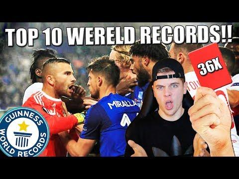 TOP 10 BIZARRE VOETBAL WERELD RECORDS!!