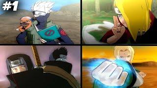 Ulti Semua Karakter Di Game Naruto Ultimate Ninja 5 PS2 #part1