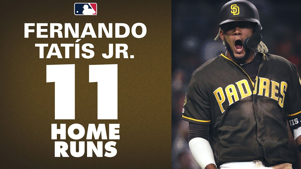 Fernando Tatís Jr. - Reaches 10 Home Runs, Leads MLB with 11!