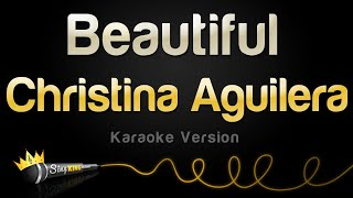 Christina Aguilera - Beautiful (Karaoke Version)