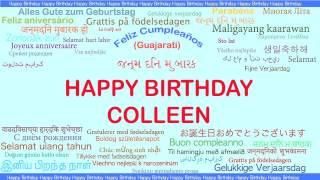Colleen   Languages Idiomas - Happy Birthday